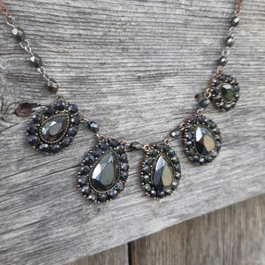 Onyx Look Necklace